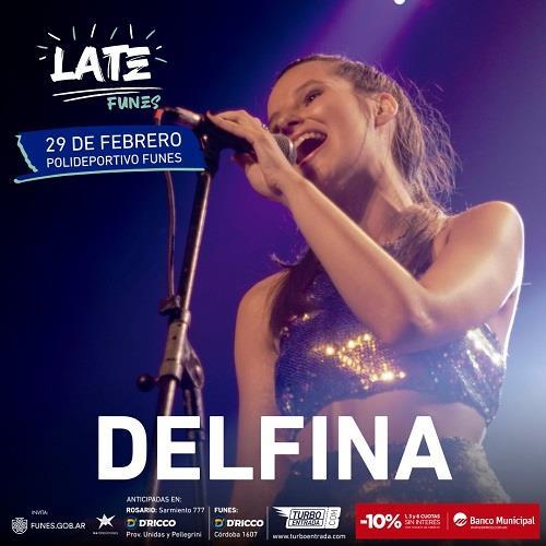 """¡Delfina Beltramone en el Late Funes! Estará presentando su nuevo corte """"La Marea"""""""