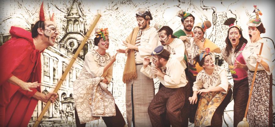 """Obra teatral """"Esta noche hay corso"""" de Tres Tigres Teatro"""