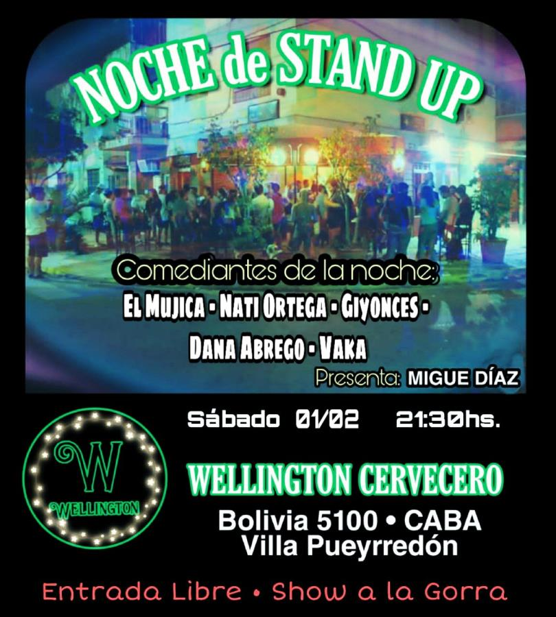 Noche de Stand Up en Wellington