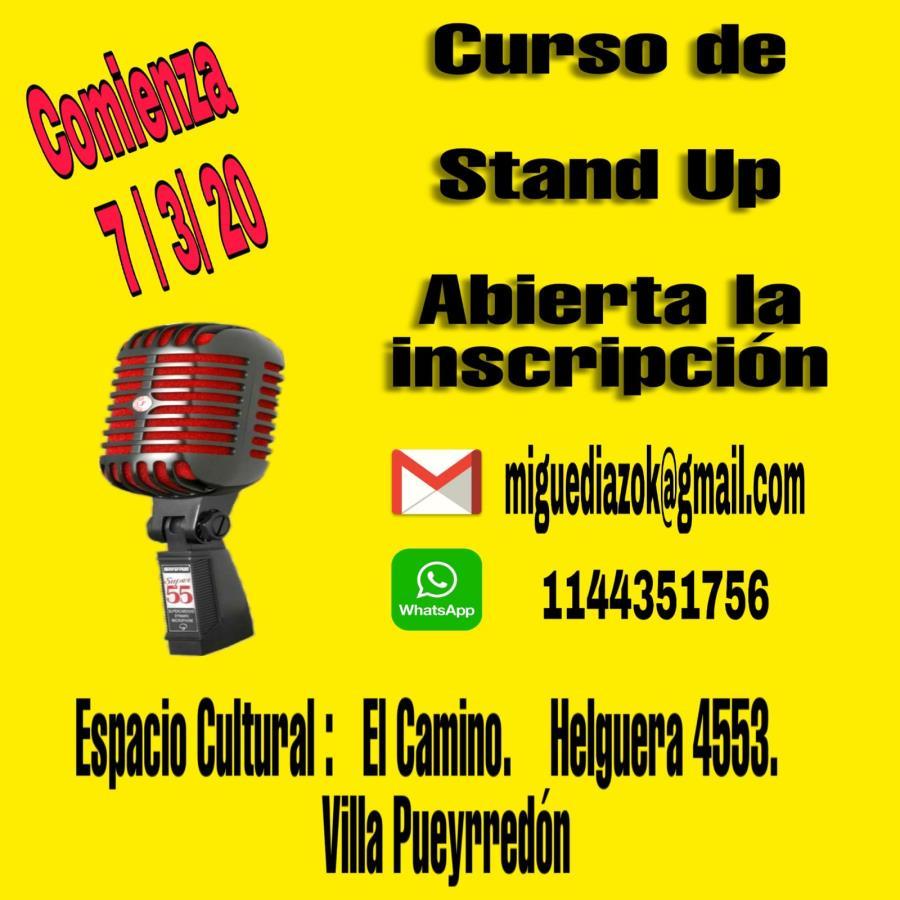 Curso de Stand Up  1° Nivel