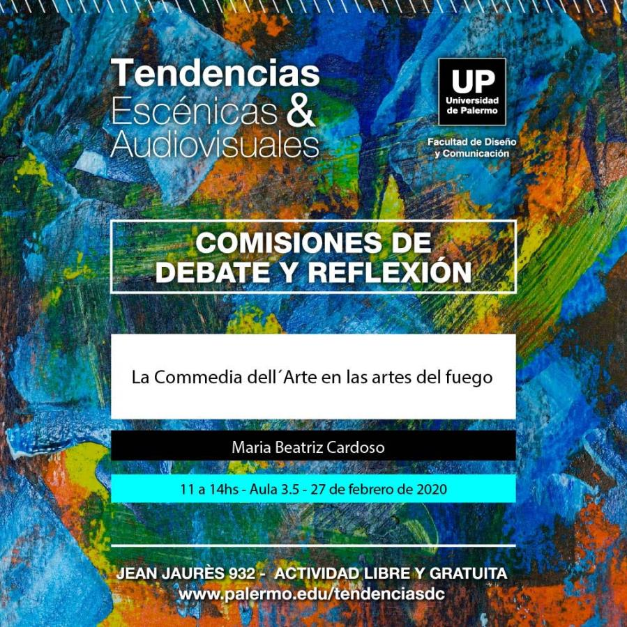 """Ponencia """"La Commedia dell´Arte en las Artes del Fuego"""""""