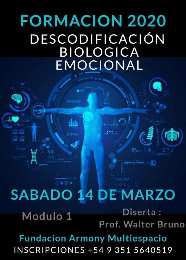"""""""DESCODIFICACIÓN BIOLÓGICAEMOCIONAL""""EN VILLA ALLENDE"""