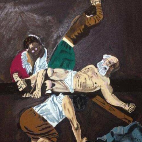 La crucifixión de pedro