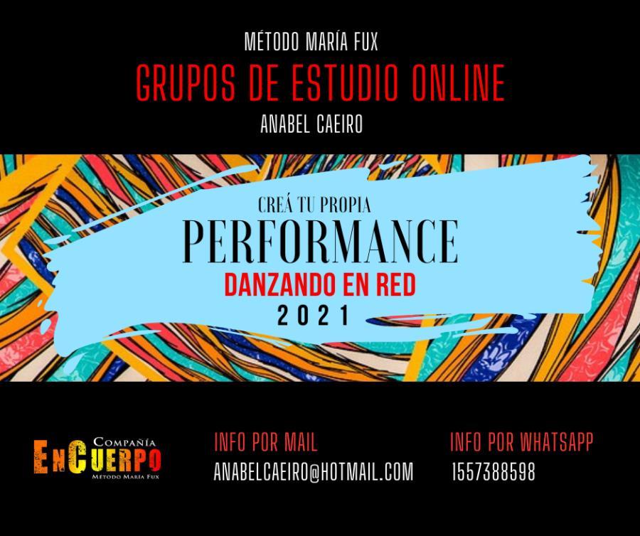 """""""Creá tu Propia Performance"""" Método María Fux"""