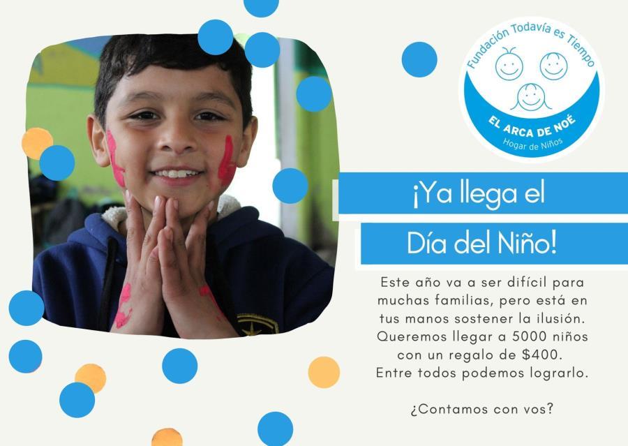 Día del Niño VIRTUAL - Fundación Todavía es Tiempo