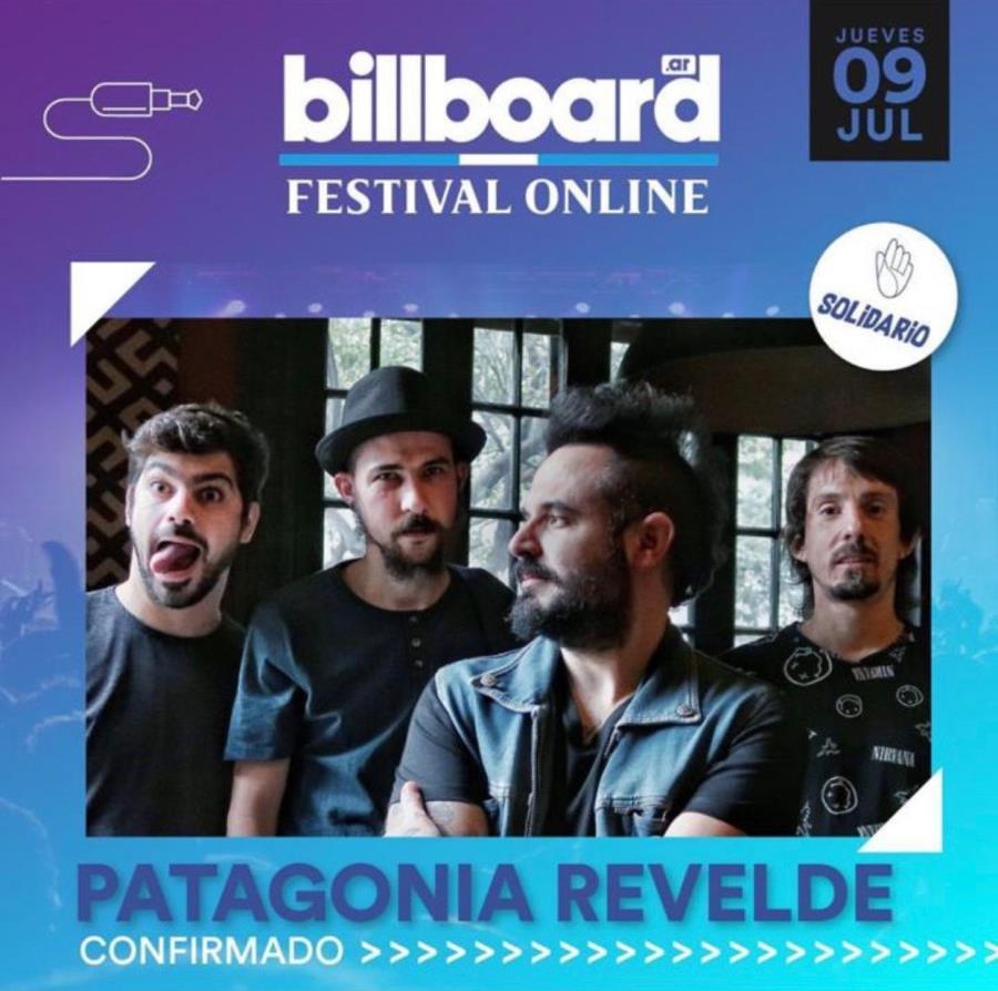 Patagonia ReVelde en el Billboard Festival Online