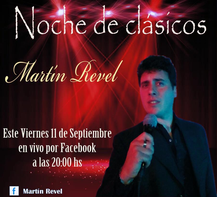 """Martín Revel en """"Noche de clásicos"""""""