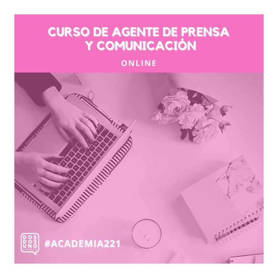 Curso online. Agente de Prensa y Comunicación