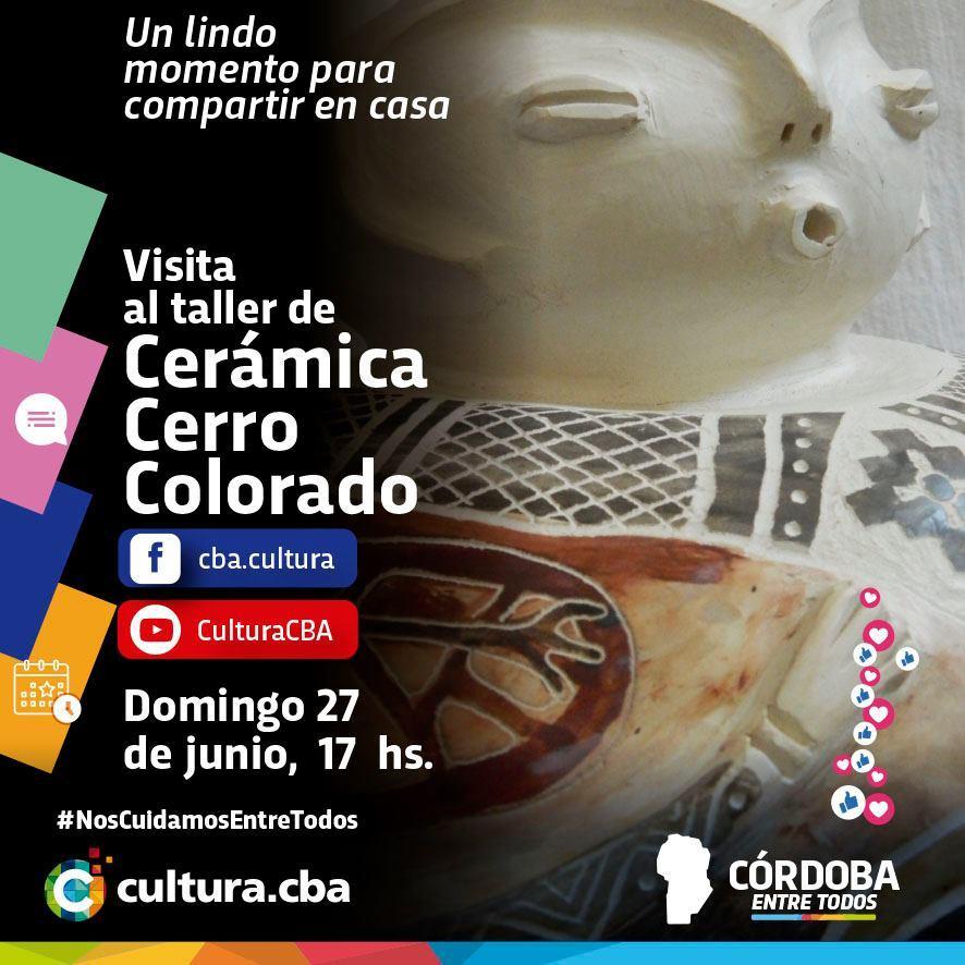 Visita al taller de Cerámica Cerro Colorado