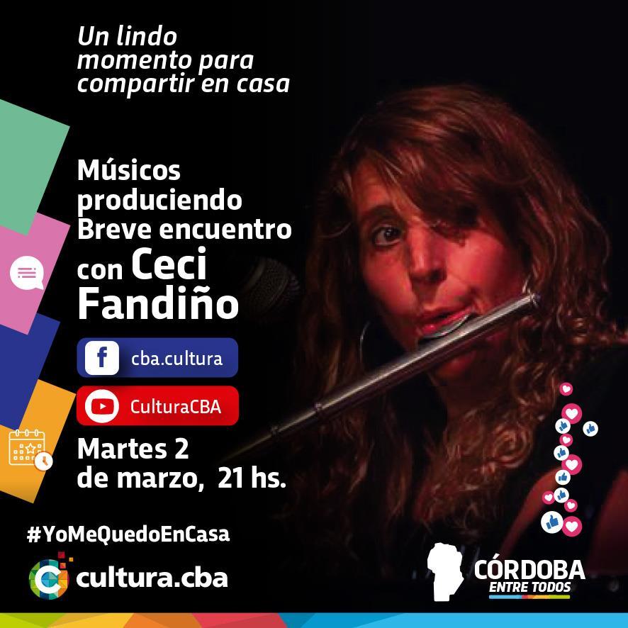Músicos produciendo Breve encuentro con Ceci Fandiño