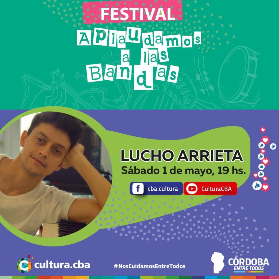 Lucho Arrieta - Festival Aplaudamos a las bandas