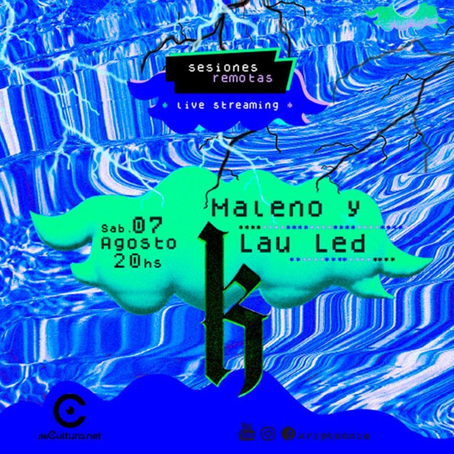 Kriptonîa Sesiones Remotas - Maleno y Lau Led
