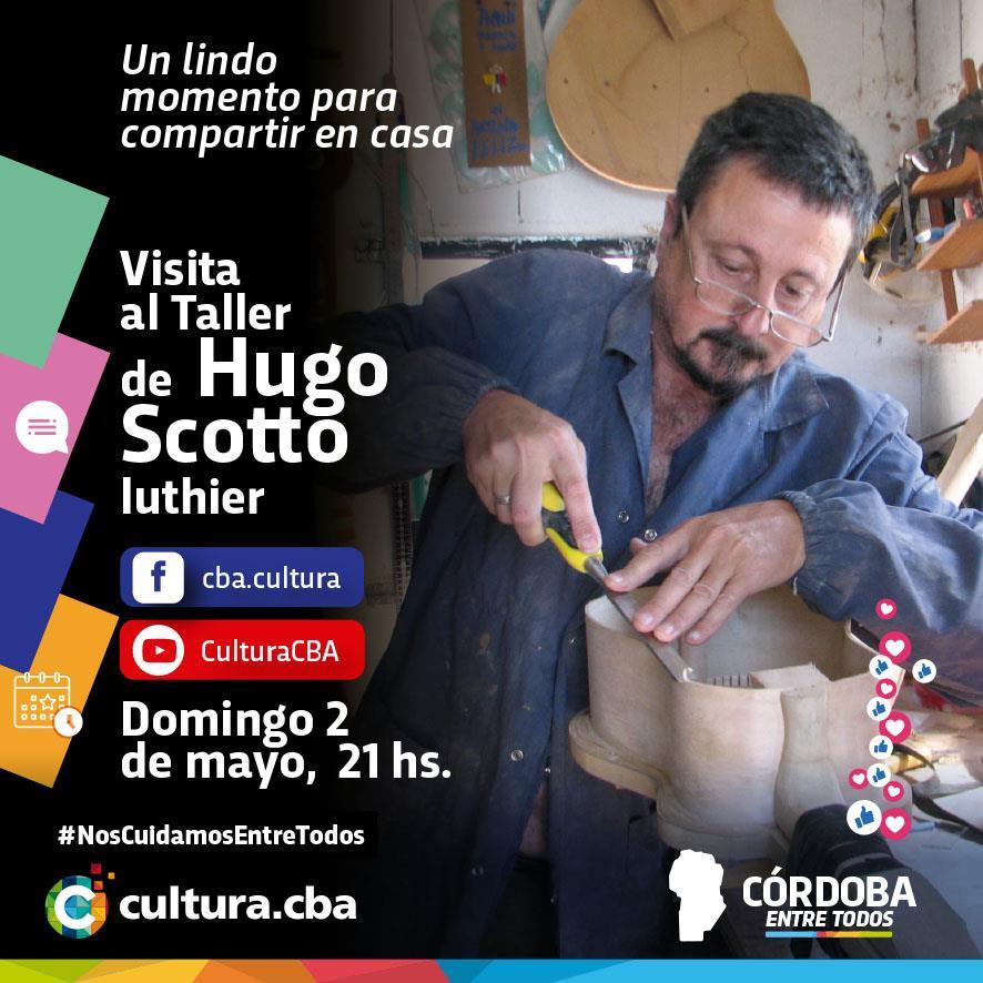 Visita al taller de Hugo Scotto (Cosquín)