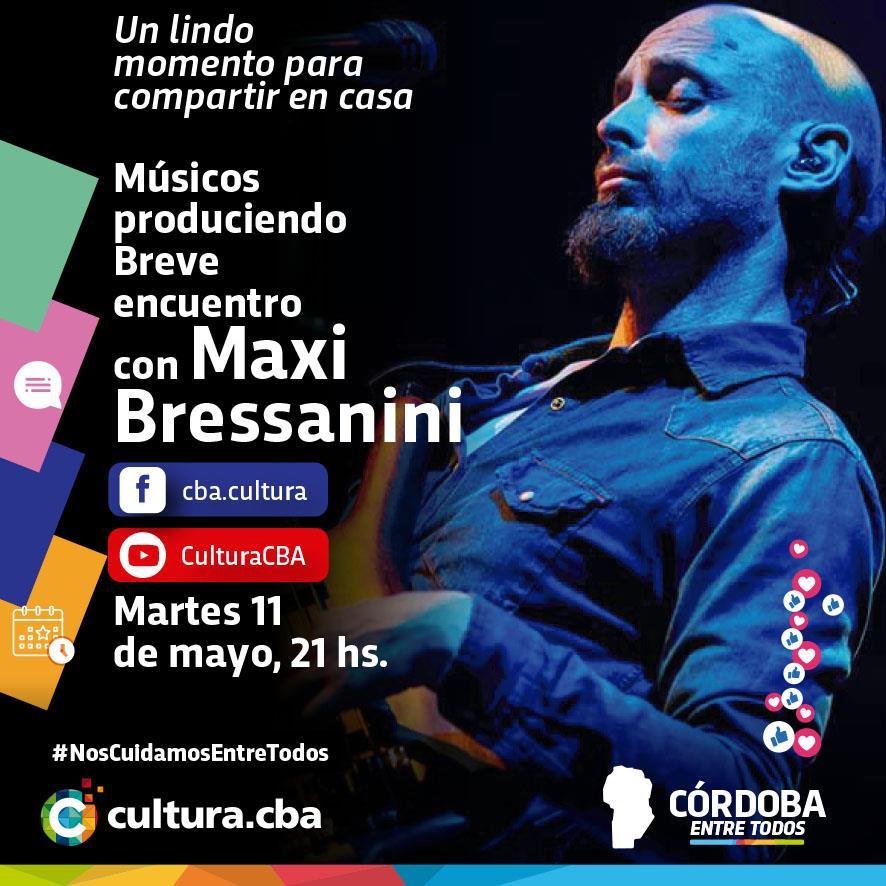 Músicos produciendo: breve encuentro con Maxi Bressanini