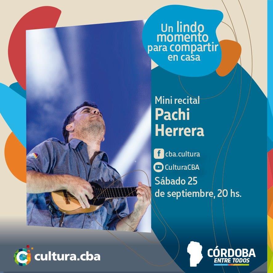 Mini recital de Pachi Herrera