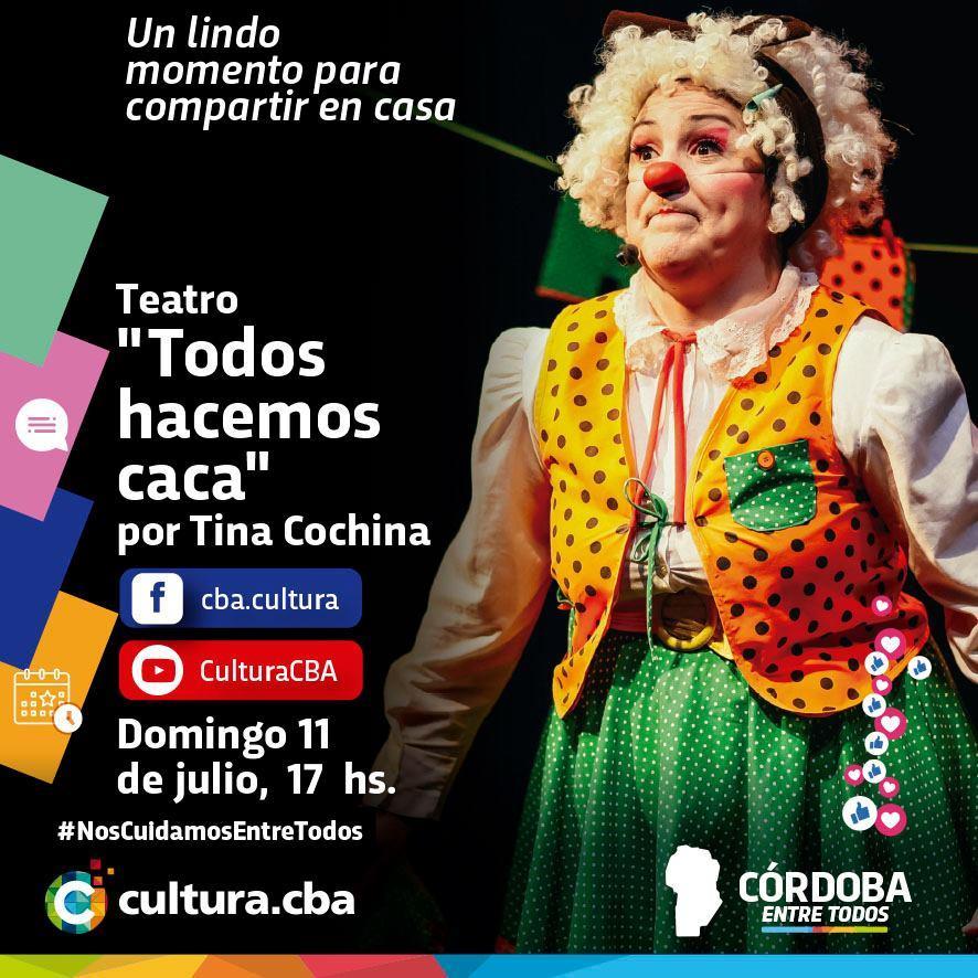 Teatro: Todos hacemos caca por Tina Cochina