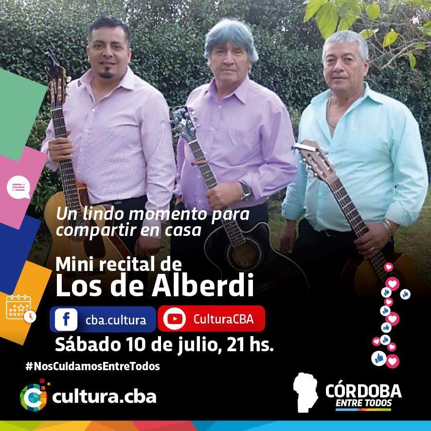 Mini recital de Los de Alberdi
