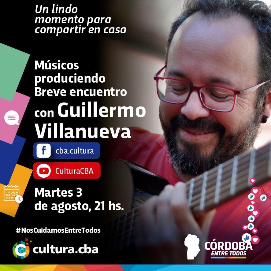 Músicos produciendo: breve encuentro con Guillermo Villanueva
