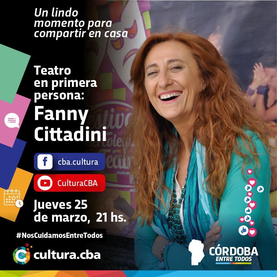 Teatro en primera persona: Fanny Cittadini