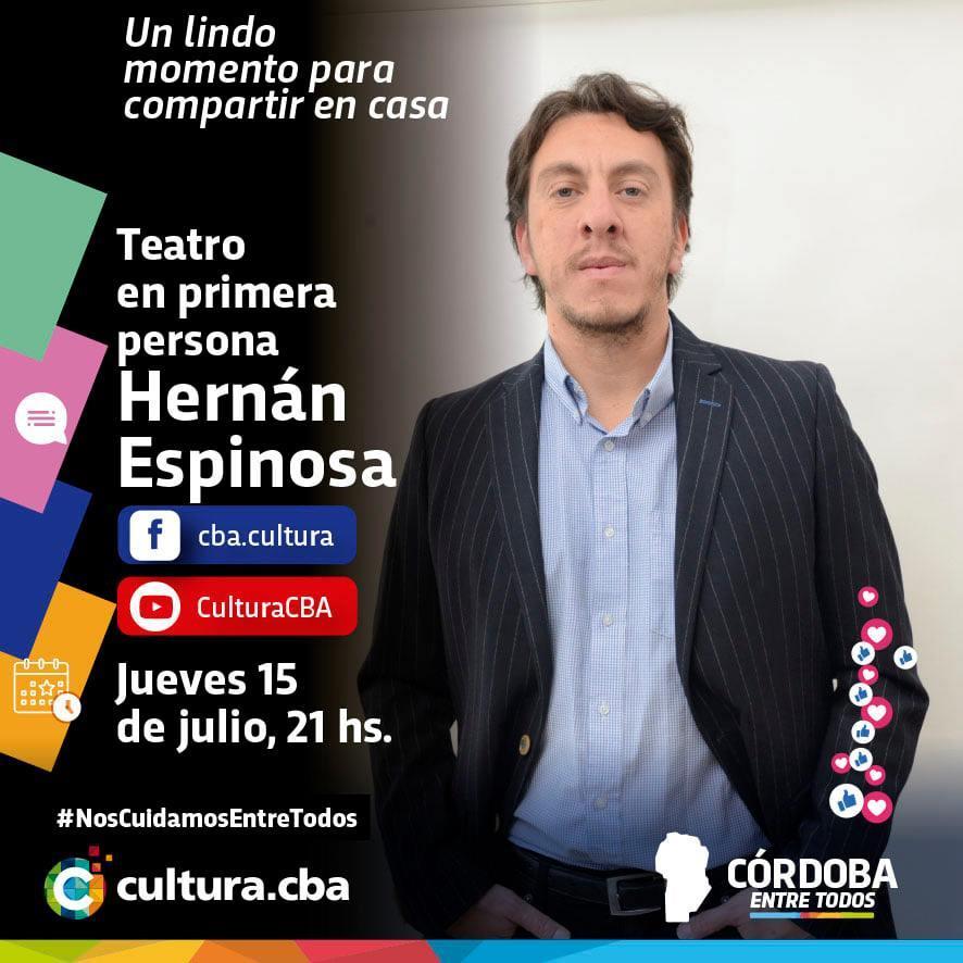 Teatro en primera persona: Hernán Espinoza