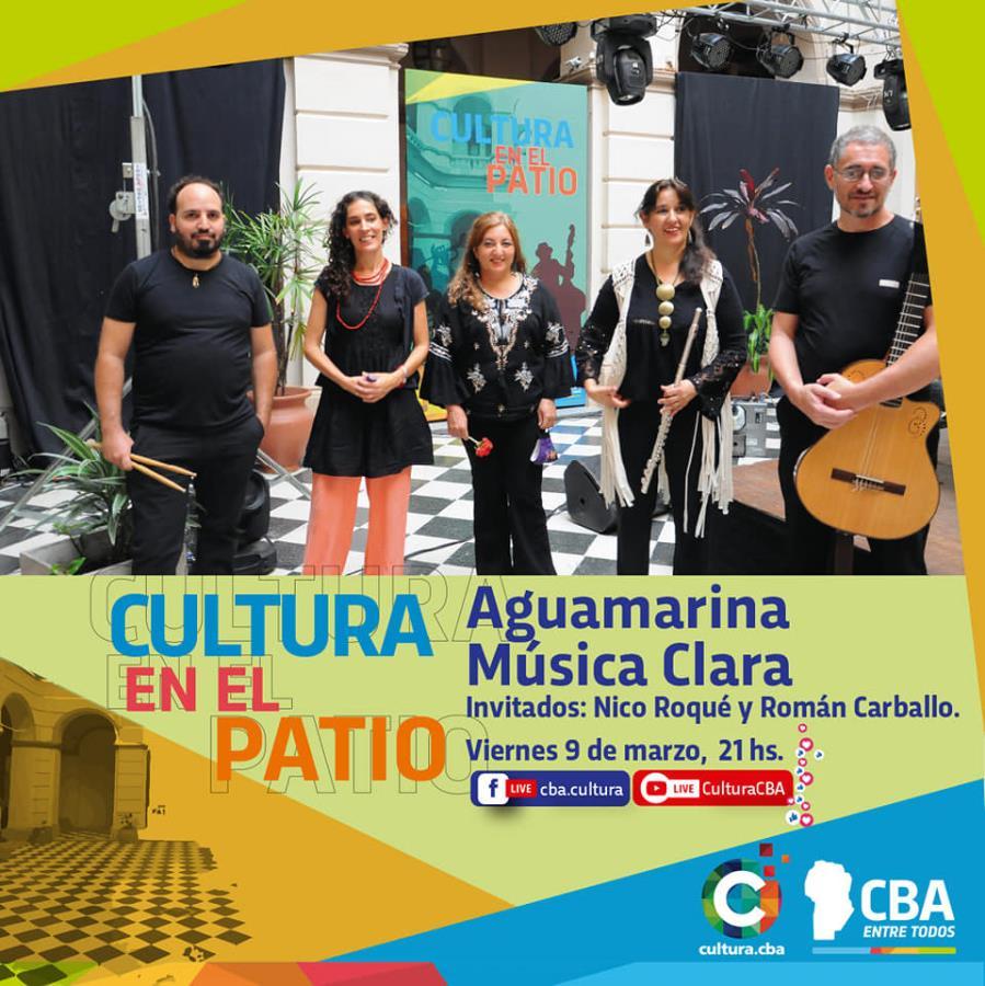 Cultura en el patio: Aguamarina música clara