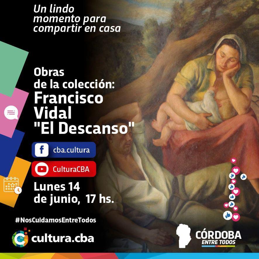Obras de la colección: El Descanso de Francisco Vidal