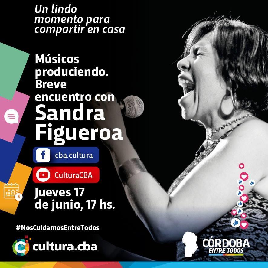 Músicos produciendo: breve encuentro con Sandra Figueroa