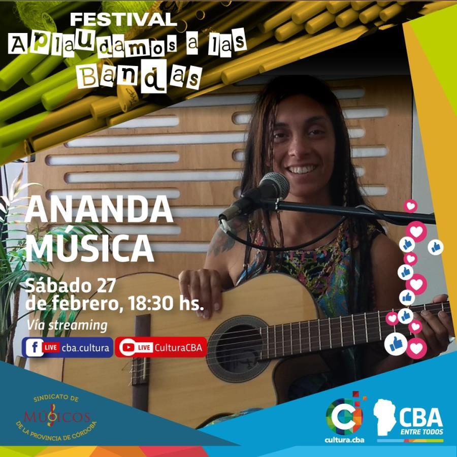 Festival Aplaudamos a las bandas: Ananda Música