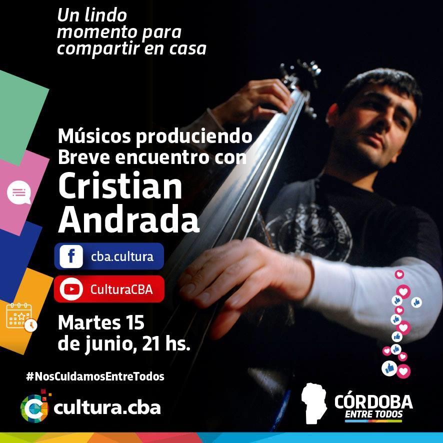 Músicos produciendo: breve encuentro con Cristian Andrada