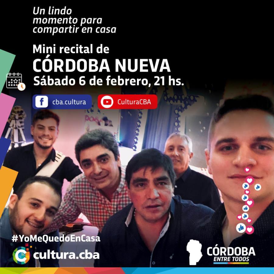 Mini recital de Córdoba Nueva
