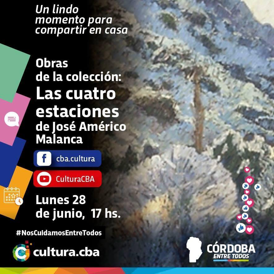 Obras de la colección: Las cuatro estaciones de José Américo Malanca
