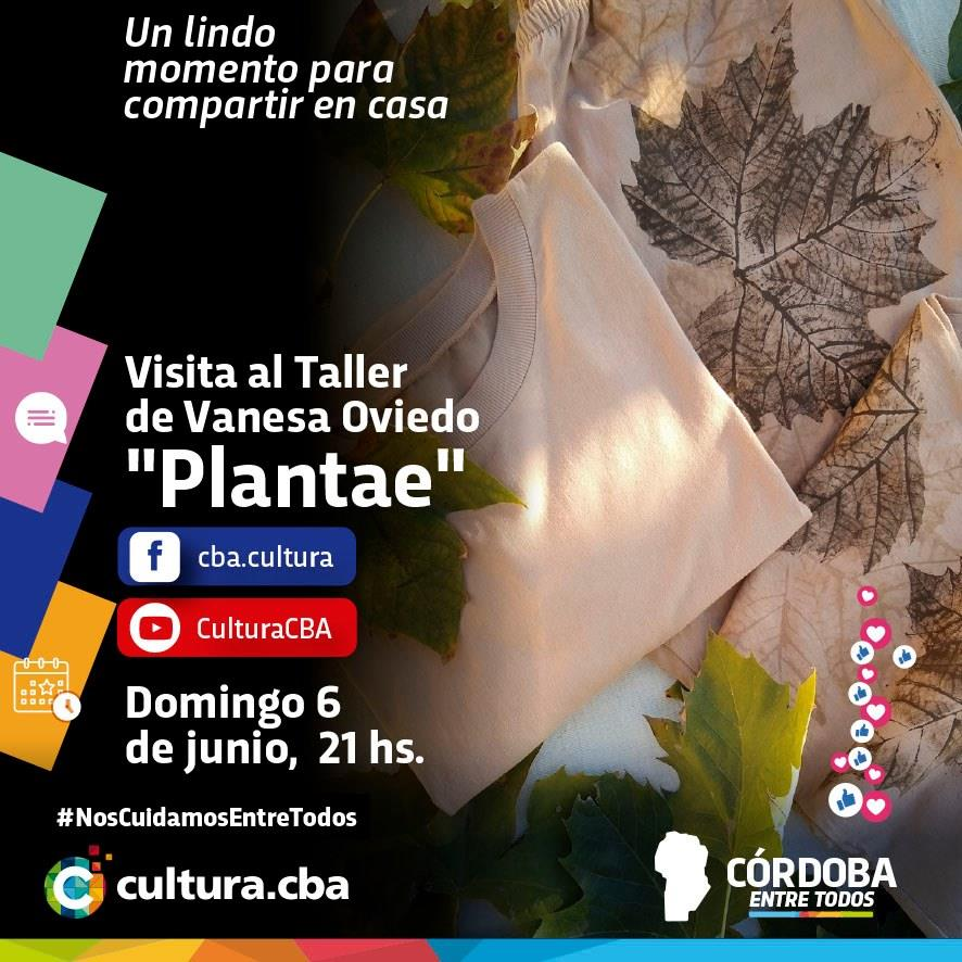 Visita al taller de Vanesa Oviedo, Plantae (Córdoba)
