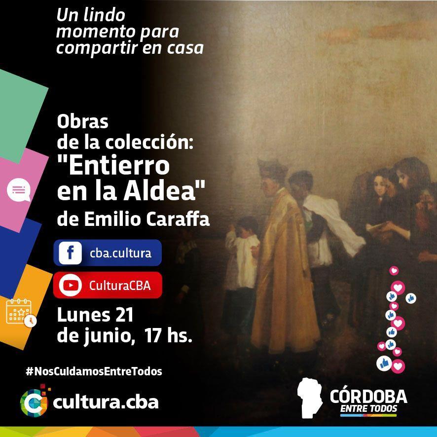 Obras de la colección: Entierro en la Aldea de Emilio Caraffa