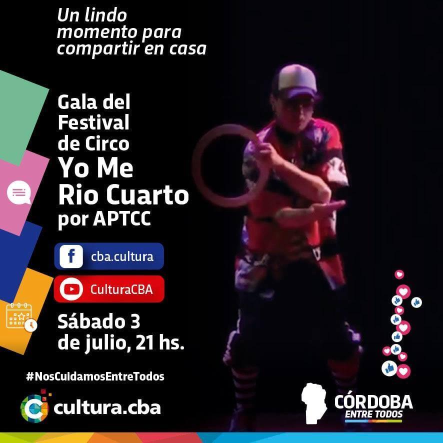 Gala del Festival de Circo Yo Me Rio Cuarto (Río Cuarto)