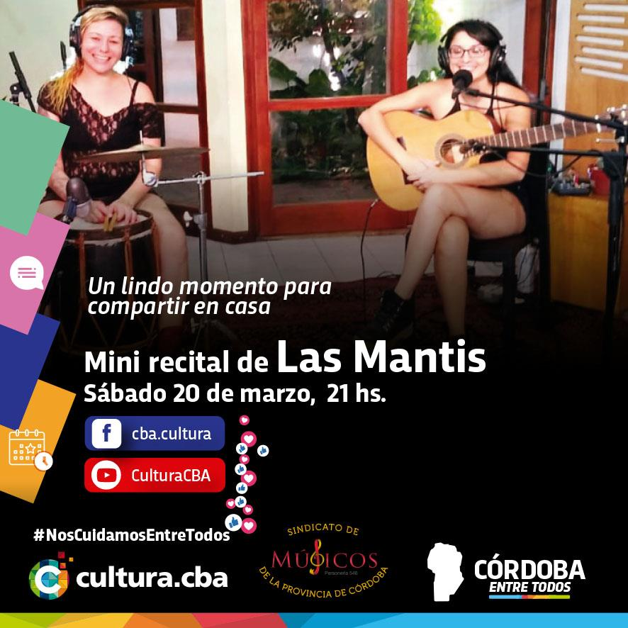 Mini recital de Las Mantis