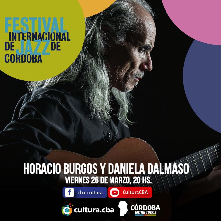 Festival Internacional de Jazz: Horacio Burgos y Daniela Dalmaso