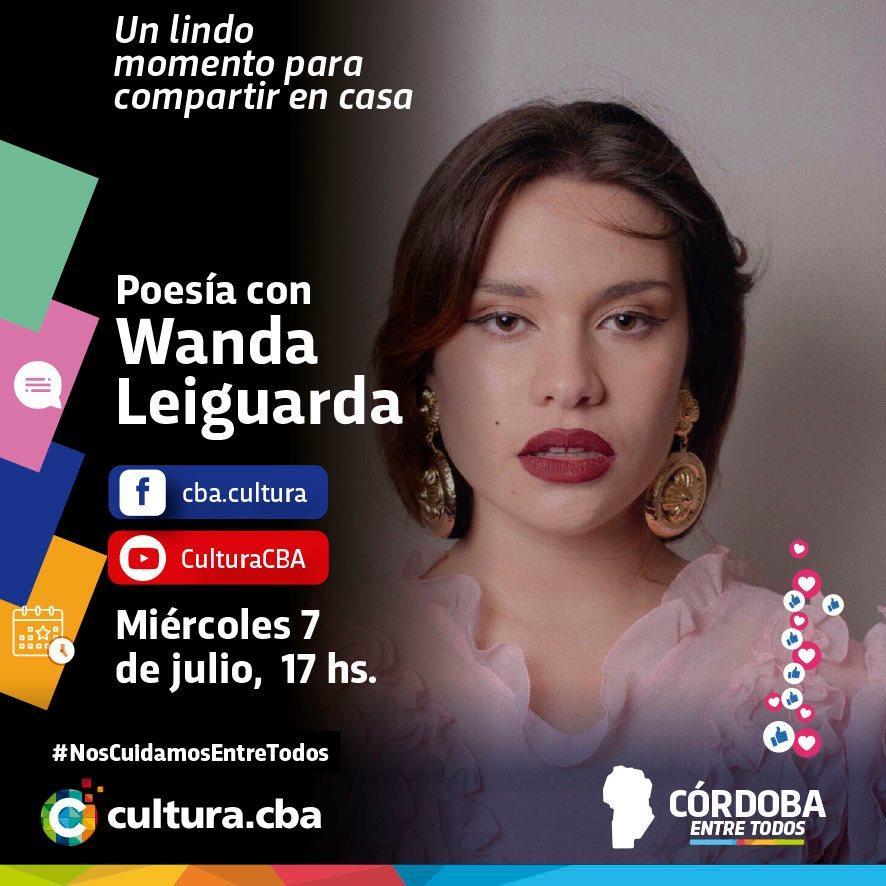 Poesía con Wanda Leiguarda