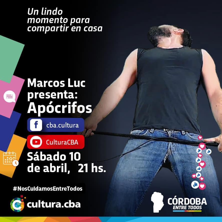 Marcos Luc presenta Apócrifos
