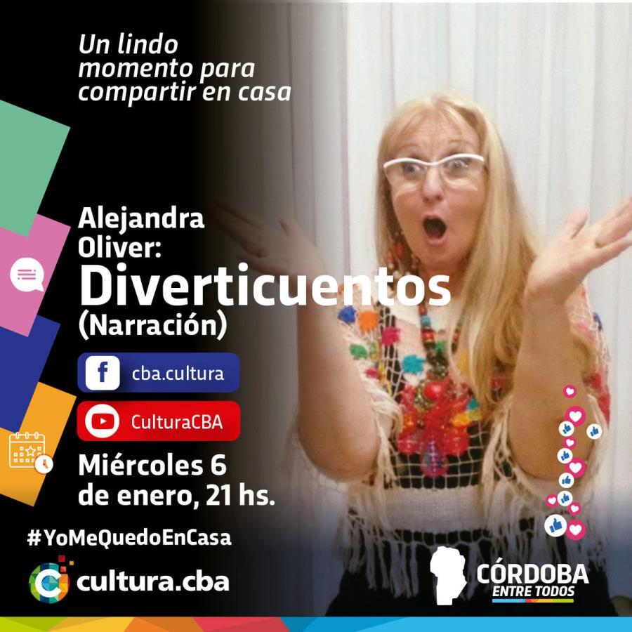 Alejandra Oliver: Diverticuento