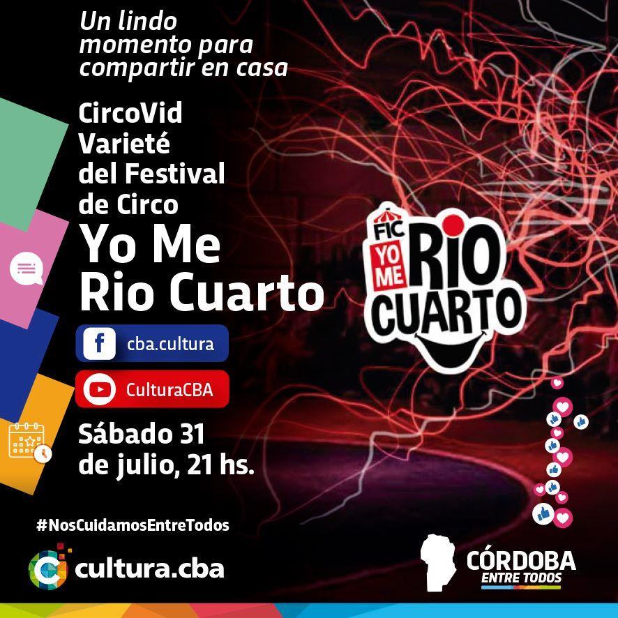 Varieté CircoVid del Festival de Circo Yo Me Río Cuarto