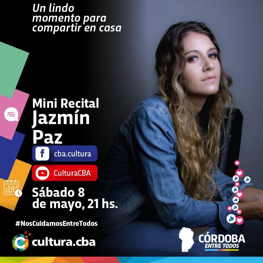 Mini recital de Jazmín Paz