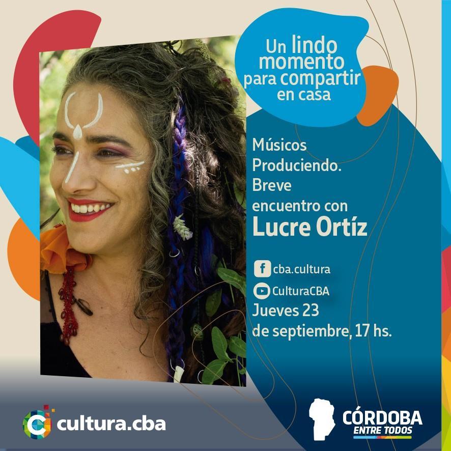 Músicos Produciendo: breve encuentro con Lucre Ortiz