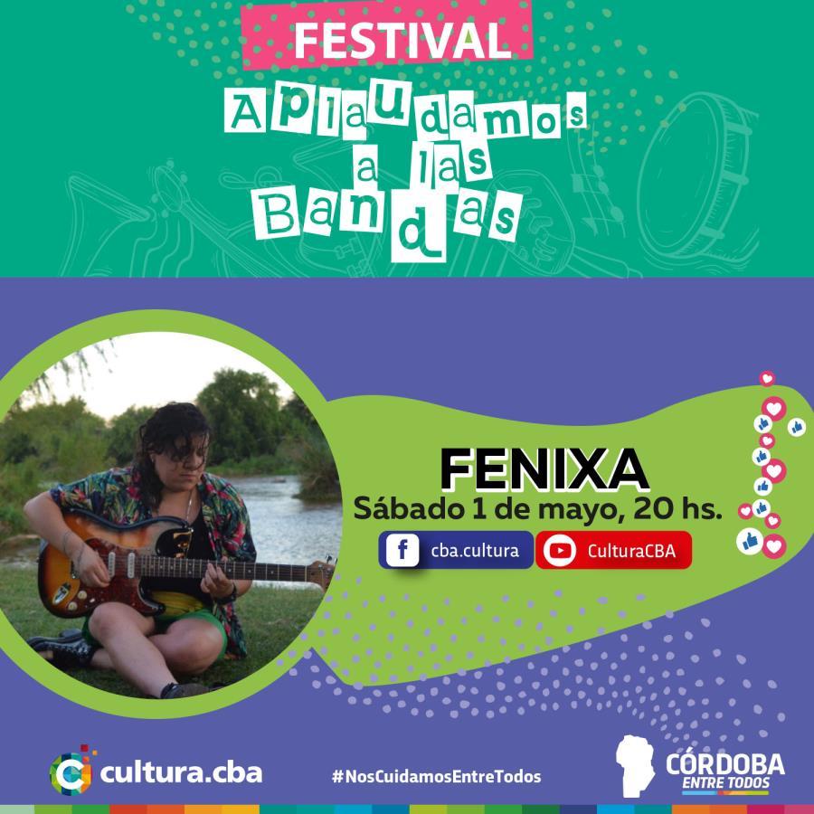 Fenixa - Festival Aplaudamos a las bandas