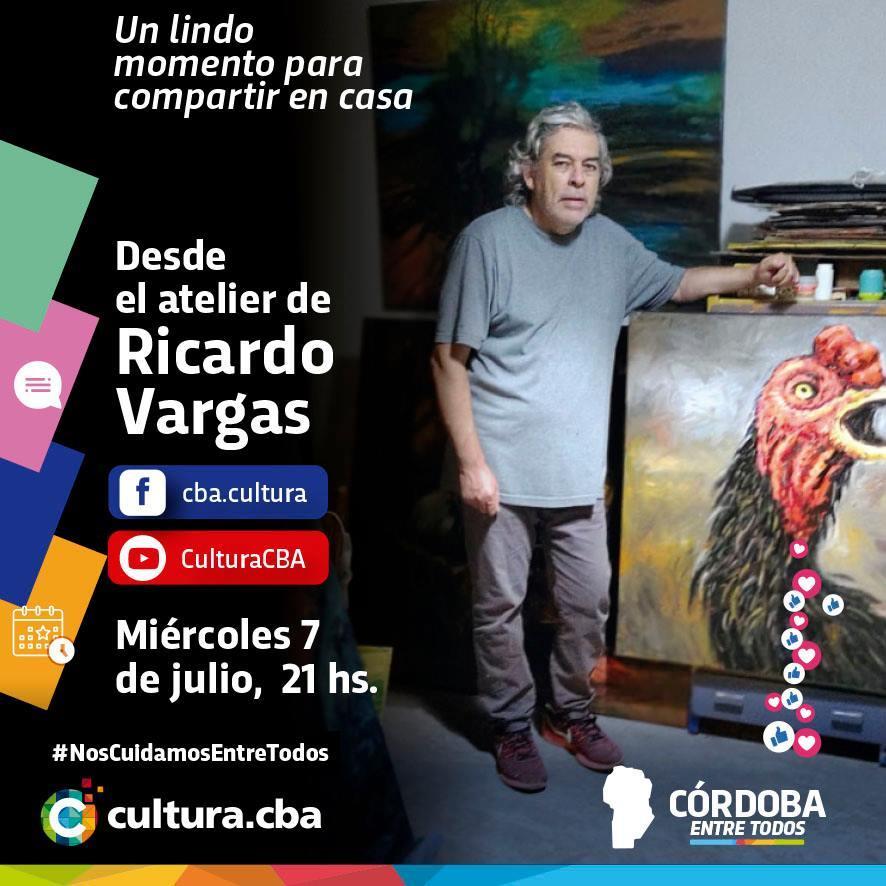 Desde el atelier de Ricardo Vargas