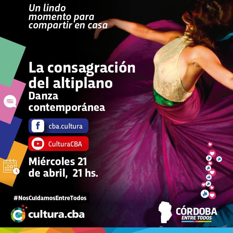 La consagración del altiplano (danza contemporánea)