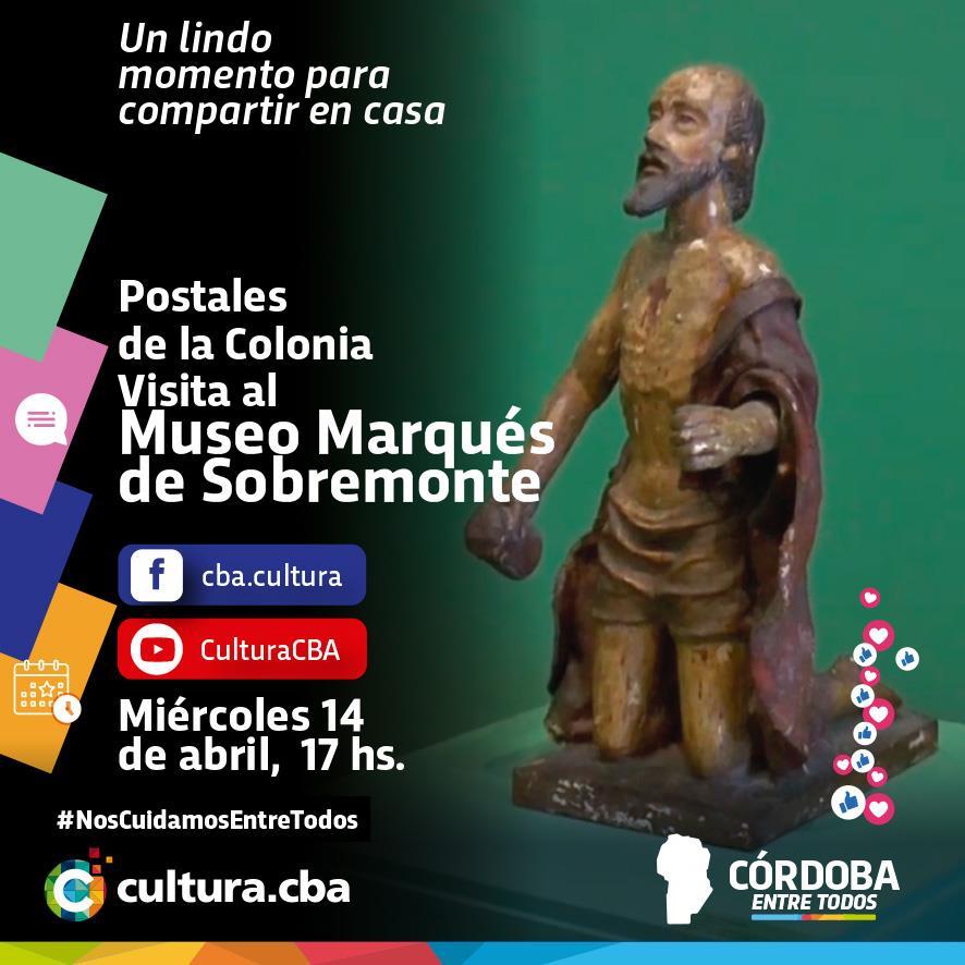 Postales de la Colonia. Visita al Museo Marqués de Sobremonte