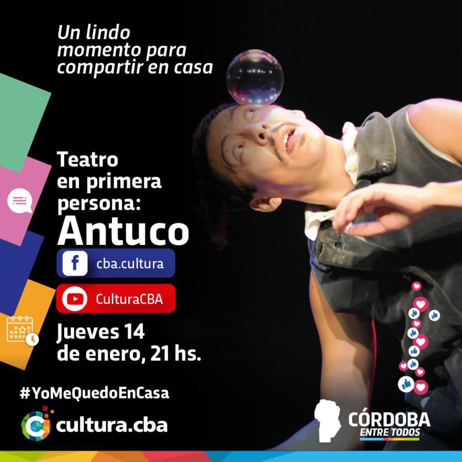 Teatro en primera persona: Antuco