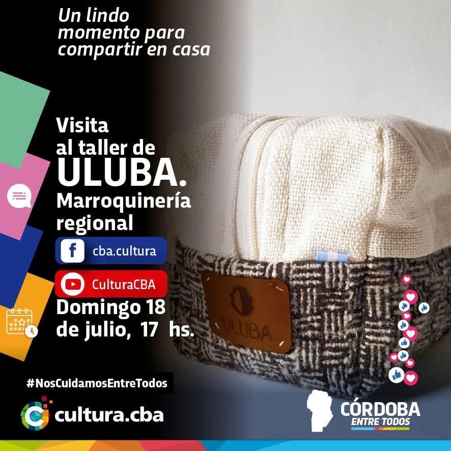 Visita al taller de ULUBA, marroquinería regional