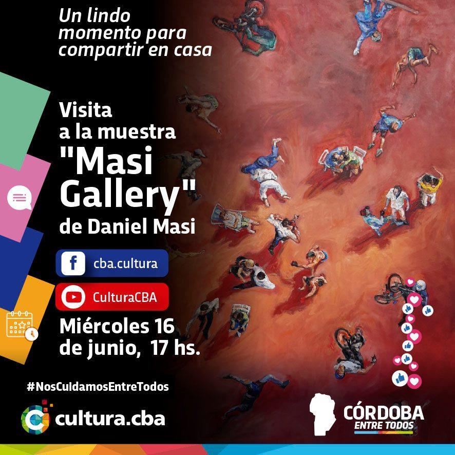 Visita a la muestra Masi Gallery de Daniel Masi