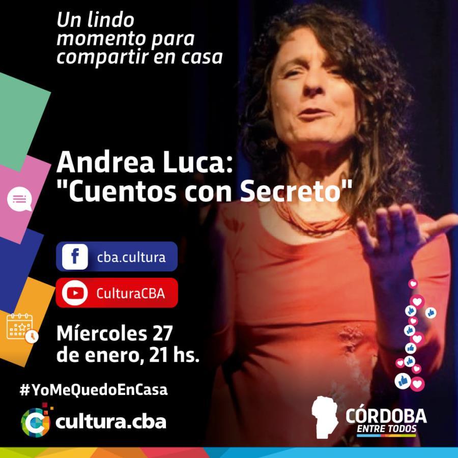 Andrea Luca: Cuentos con Secreto